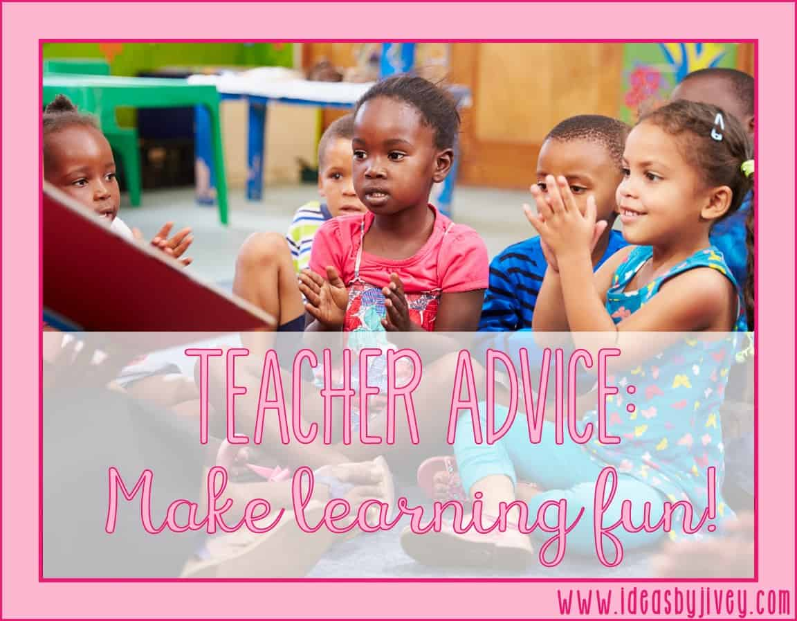Jivey shares ten tips of advice she learned from her own teaching career to help make your teaching life easier and less stressful!
