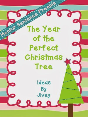 click here to download this freebie from my tpt store - The Year Of The Perfect Christmas Tree