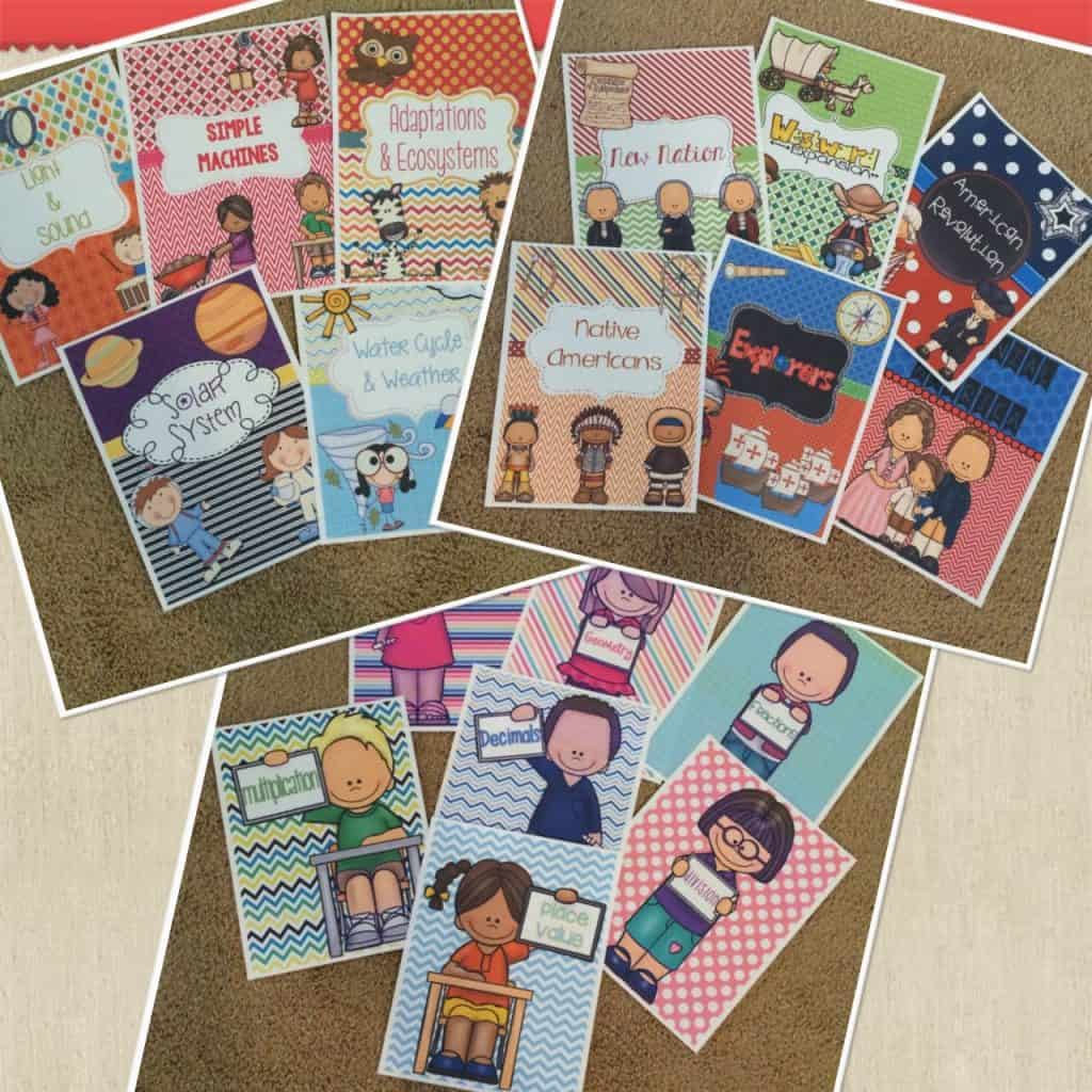 Cute Binder Covers with Ideas by Jivey