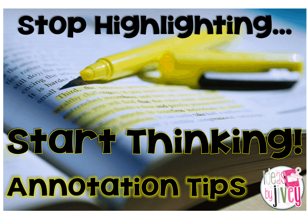 Annotation Tips with Ideas by Jivey