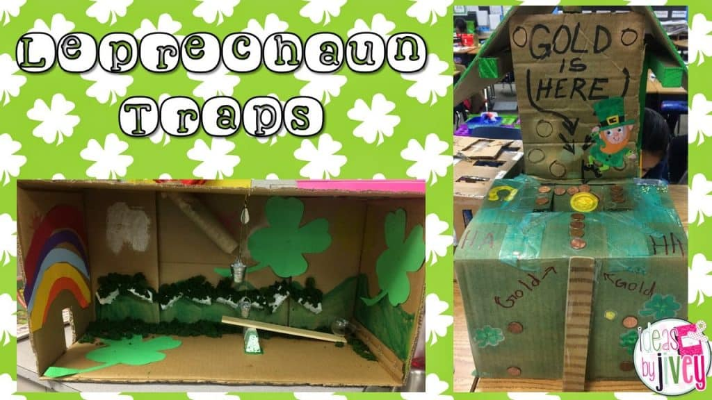 Simple Machines and Leprechaun Traps with Ideas by Jivey