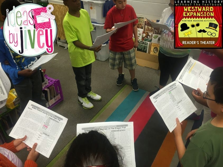 Oregon Trail Reader's Theater with Ideas by Jivey