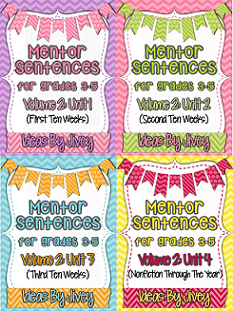 Save money with four units of mentor sentences with Ideas by Jivey.