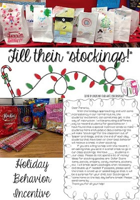 Fill their stockings for good behavior - great incentive (Ideas By Jivey)