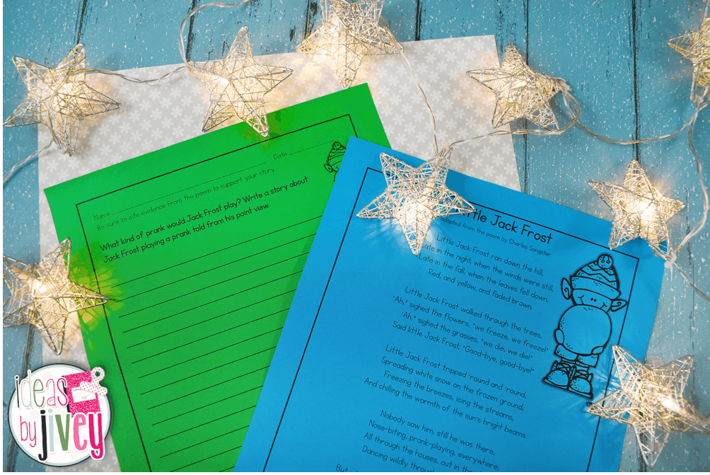 Winter and Snow Paired Texts for Lower Grades