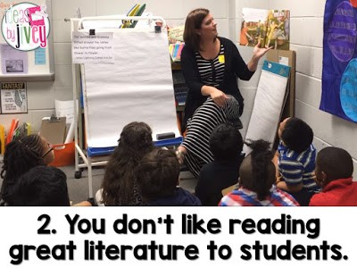 If you don't like reading authentic literature to students, mentor sentences aren't right for you.