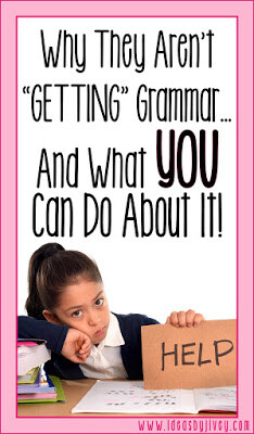 Ideas by Jivey reviews research-based reasons why grammar in isolation doesn't work. Teach grammar in context using mentor sentences and students will become better writers!