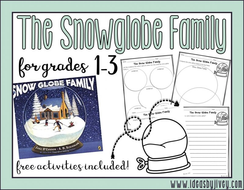 Reading in a winter wonderland the snow globe family ideas by jivey hello and welcome to the second annual winter wonderland link up at the bottom of all of the reading crews posts there is a map of the blogs so you can ccuart Choice Image