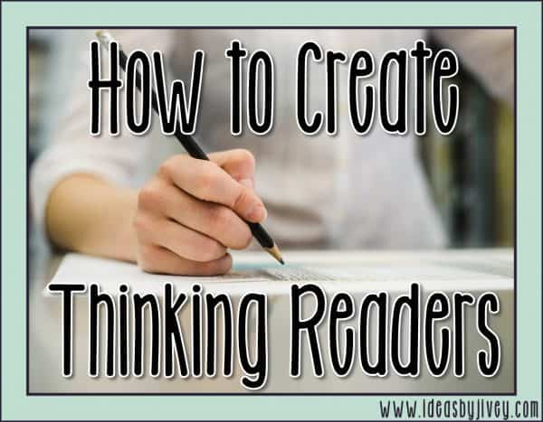 Your Guide to Engaging Students as Thinking Readers