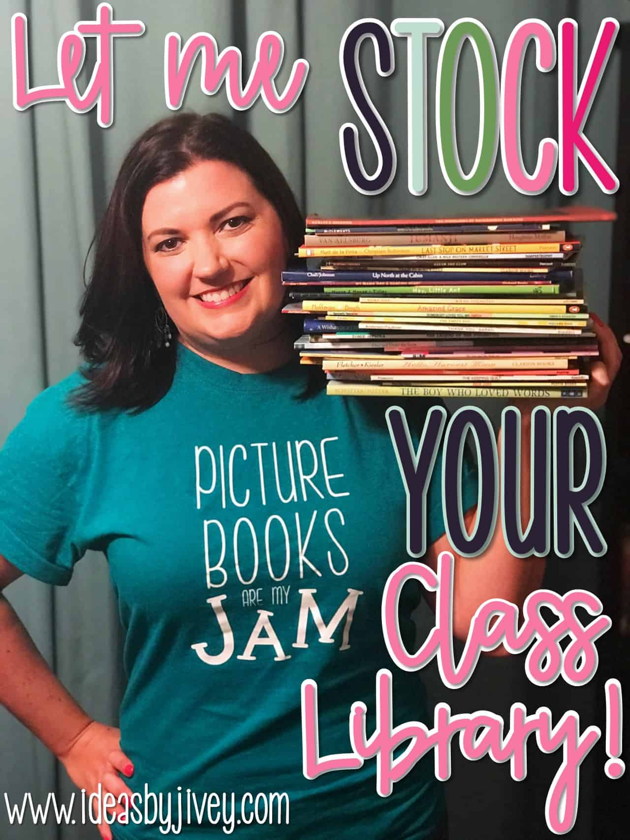 Enter this GIGANTIC giveaway happening on Jivey's website! Win a year of lessons AND the books to go with them!