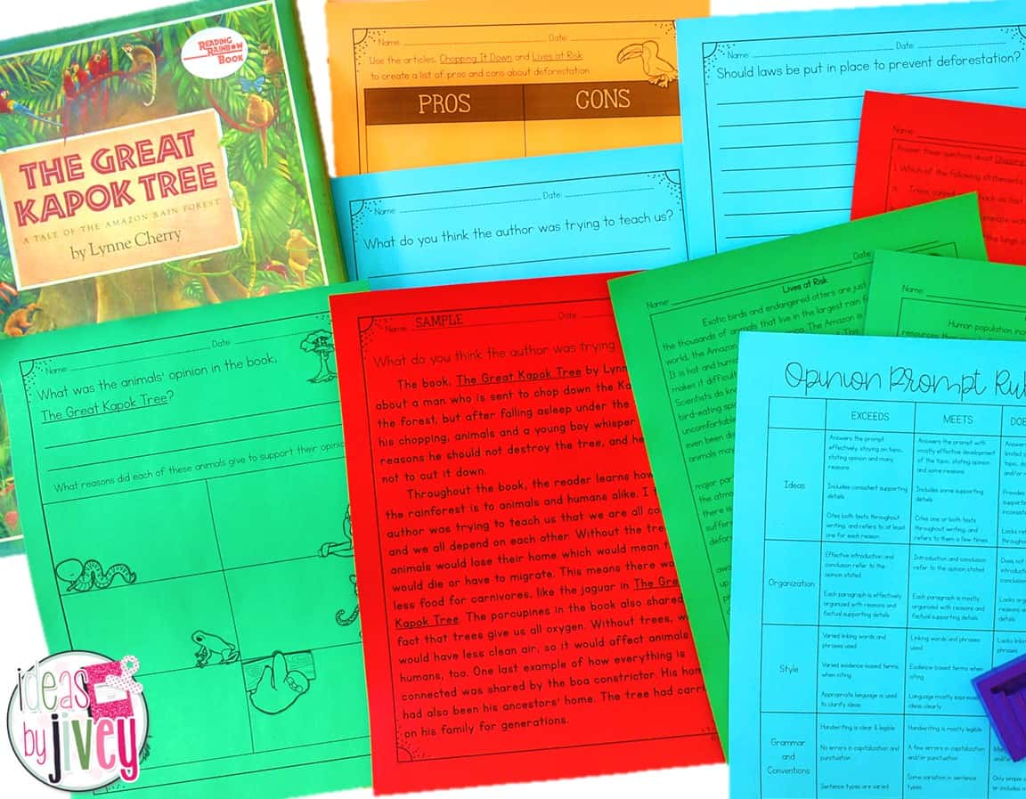 Mentor texts can be combined to help students integrate content and construct their own writing pieces that display evidence of their learning.