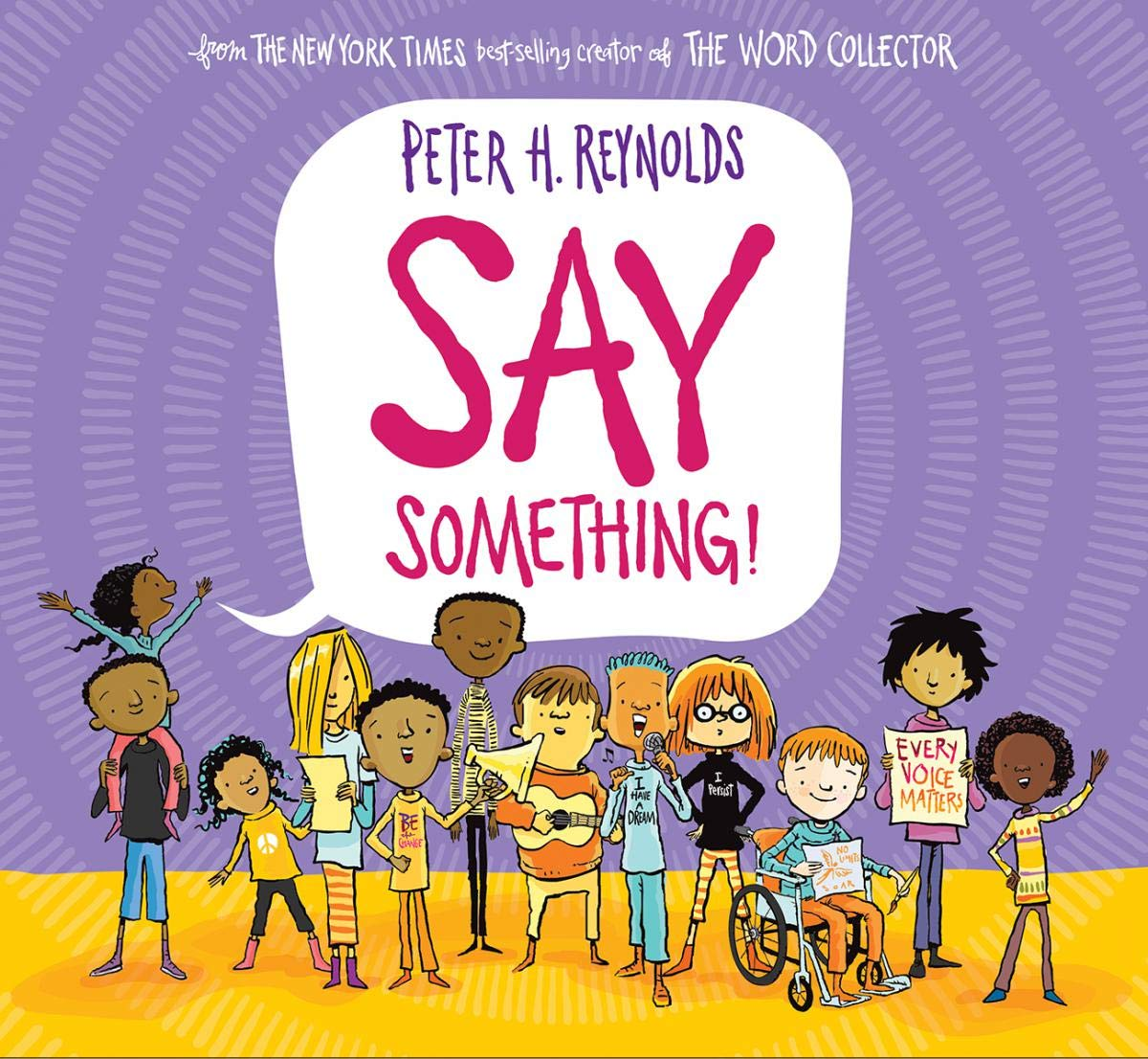 Say Something by Peter Reynolds