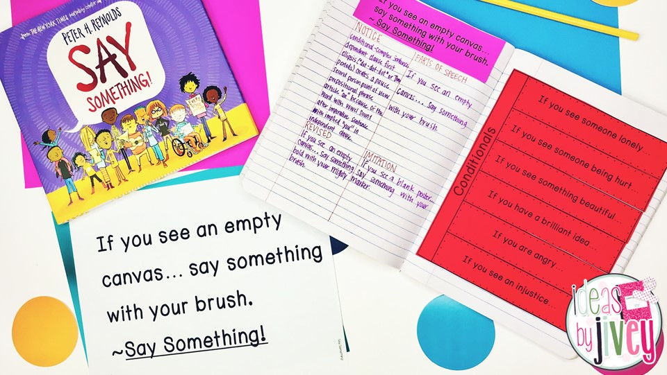 Say Something Mentor Sentence Conditional