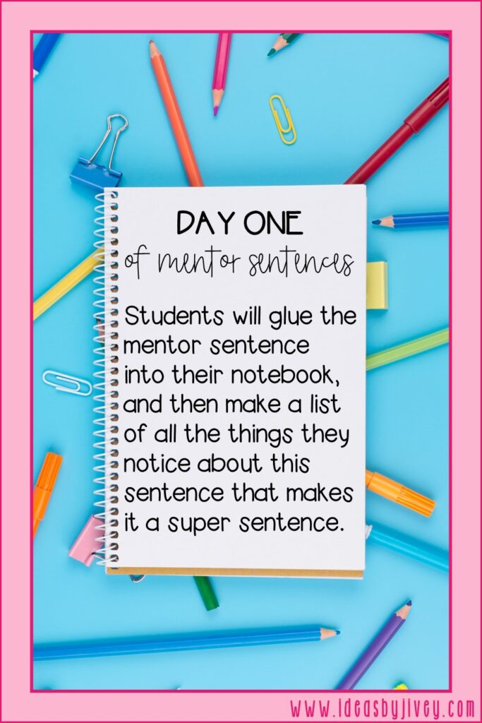 mentor sentence day one directive