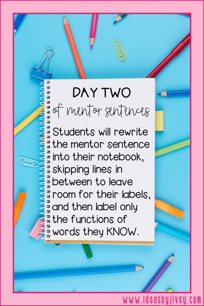 mentor sentence day two directive