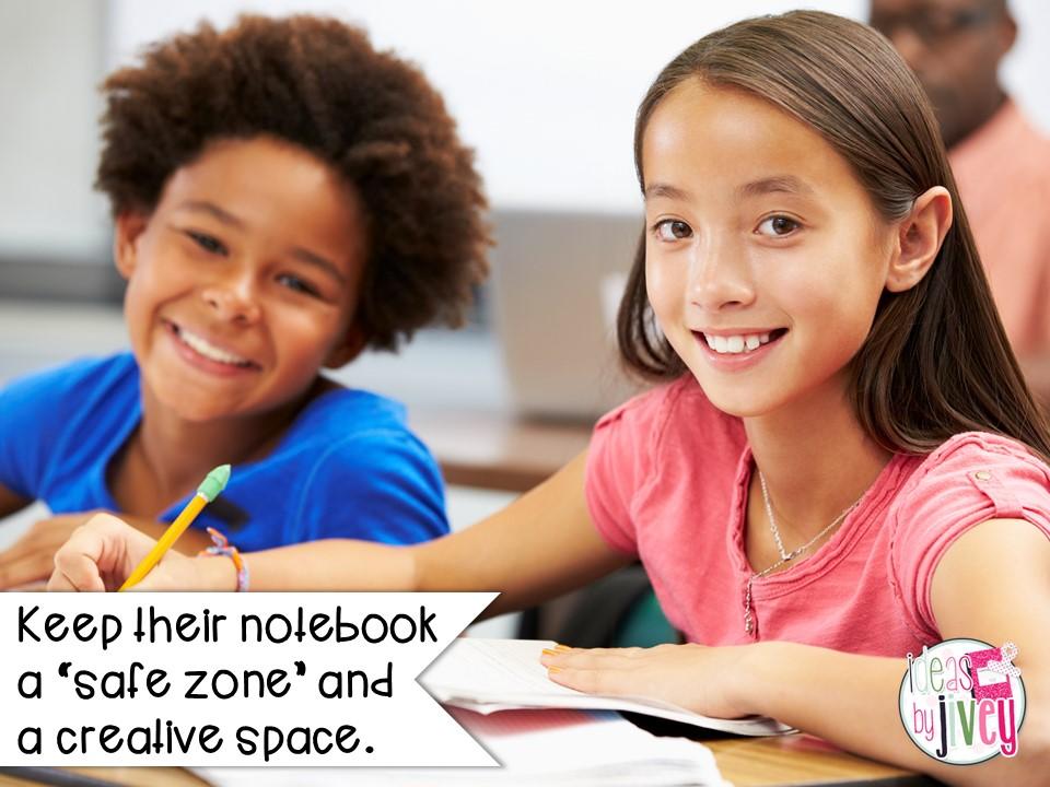 mentor sentence notebook students safe zone