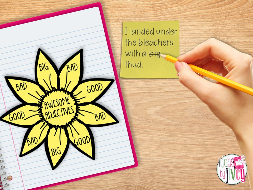 mentor sentence revision practice sticky note