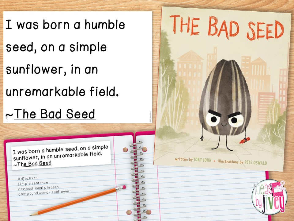 mentor sentence the bad seed time to notice