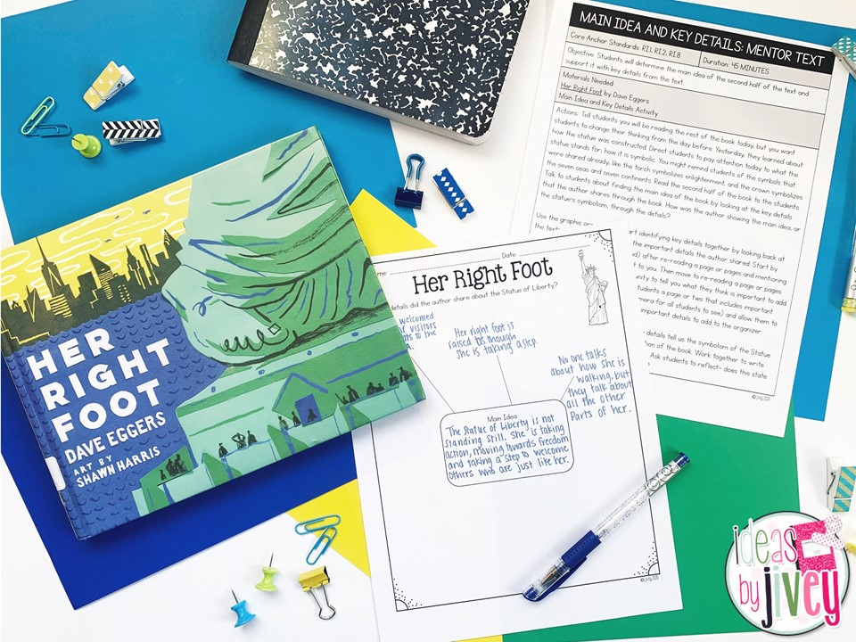 content integration with mentor texts