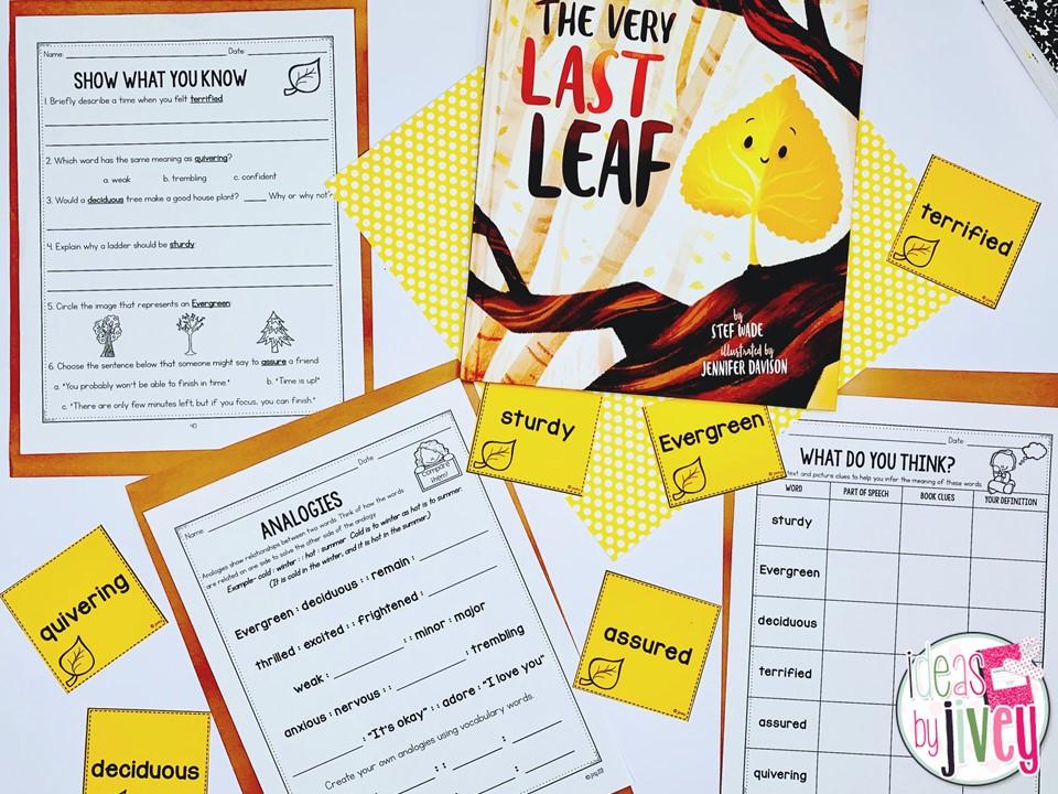 interactive read aloud vocabulary lesson